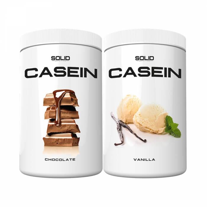 2 x SOLID Nutrition Casein, 750 g