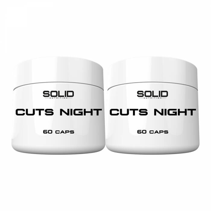 2 x SOLID Nutrition Cuts Night, 60 caps