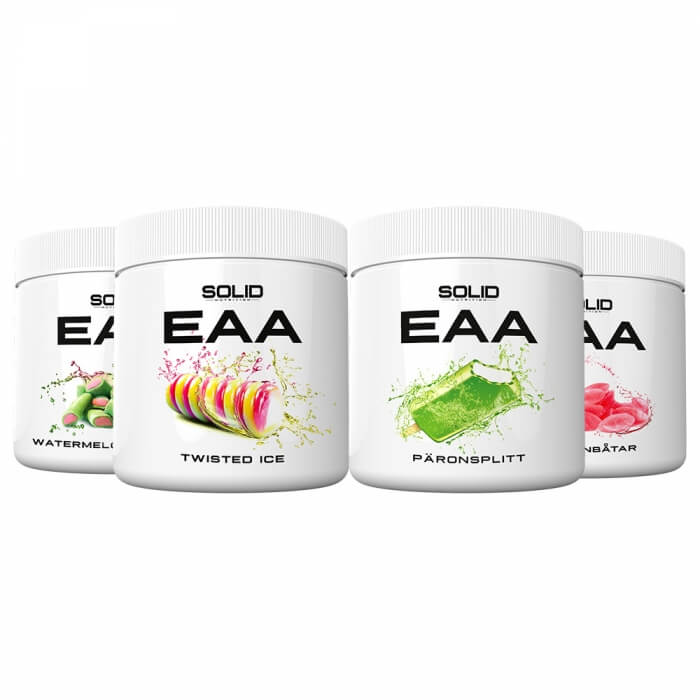 4 x SOLID Nutrition EAA, 350 g