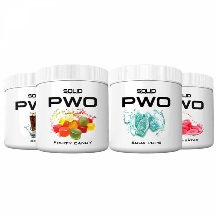 4 x SOLID Nutrition PWO, 230 g