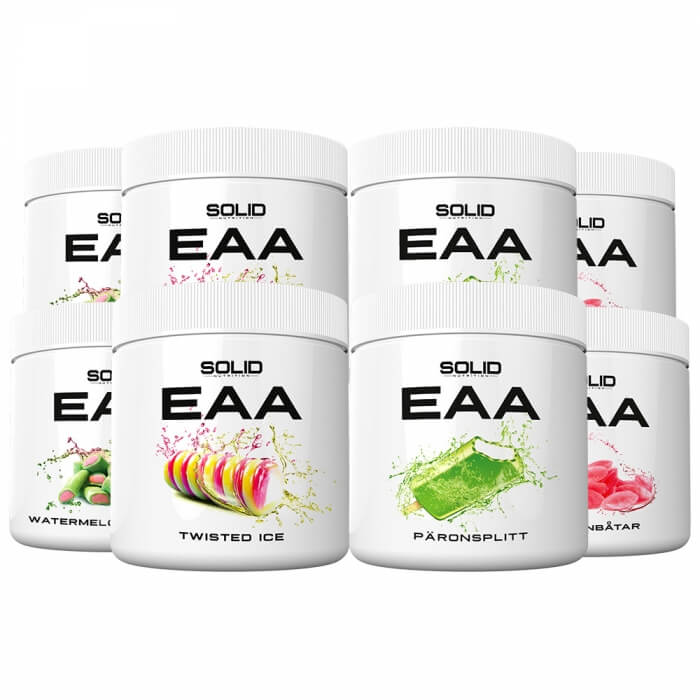 8 x SOLID Nutrition EAA, 350 g