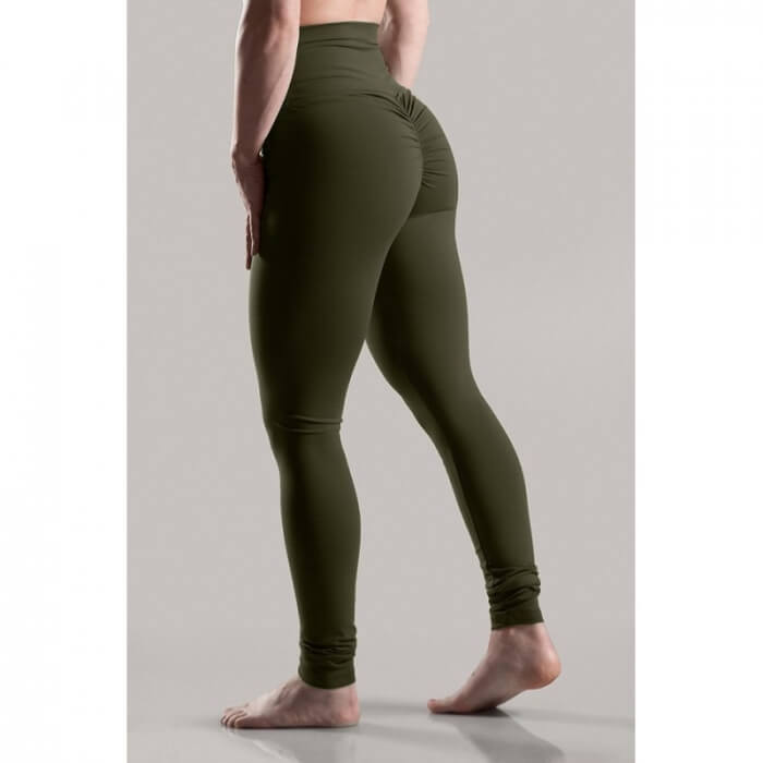 Abs2b Marilyn Monroe High Waist Full Scrunch - Army Green i gruppen Kläder / För Henne / Tights hos Tillskottsbolaget (ABS2B001)