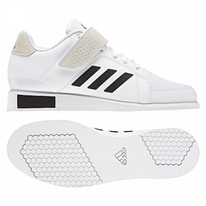 Adidas Power Perfect 3, white/black