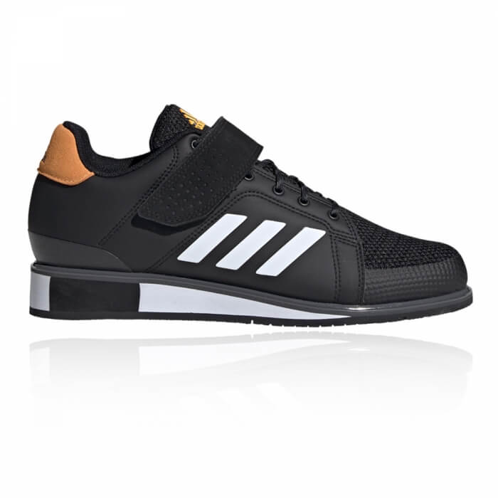 Adidas Power Perfect 3, black/white/solar gold