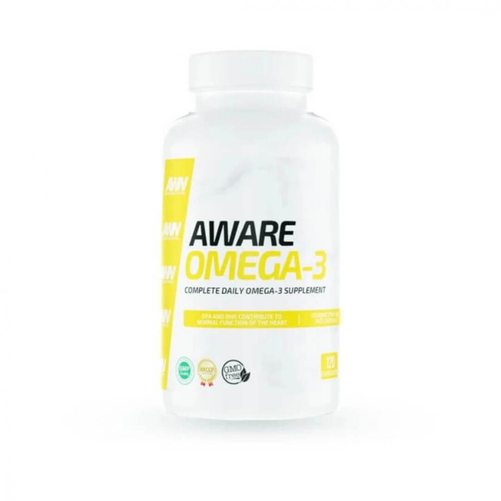 Aware Nutrition Omega-3, 90 caps
