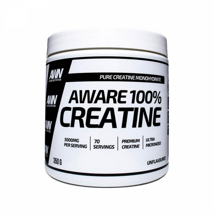 Aware Nutrition 100% Creatine, 350 g i gruppen Kosttillskott / Kreatin / Kreatinmonohydrat hos Tillskottsbolaget (AWARE8566)