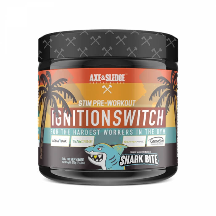 Axe & Sledge Supplements Ignition Switch, 200 g