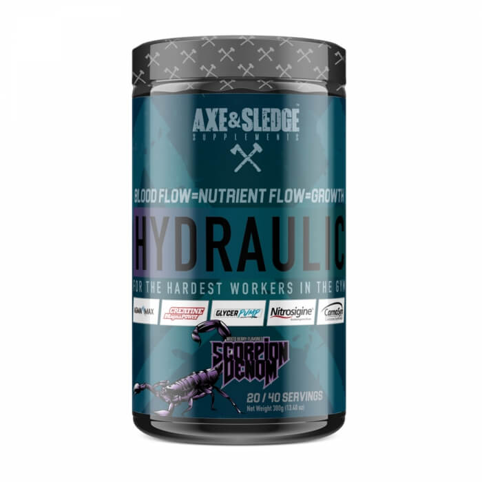 Axe & Sledge Supplements Hydraulic, 400 g
