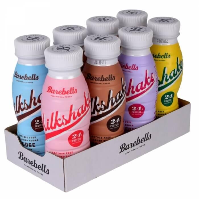 8 x Barebells Milkshake Mixflak, 330 ml