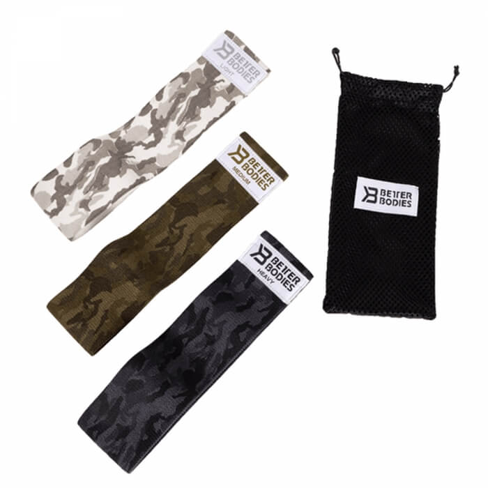 Better Bodies Glute Force 3-pack, Camo combo