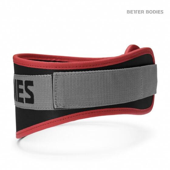 Better Bodies Basic Gym Belt, red