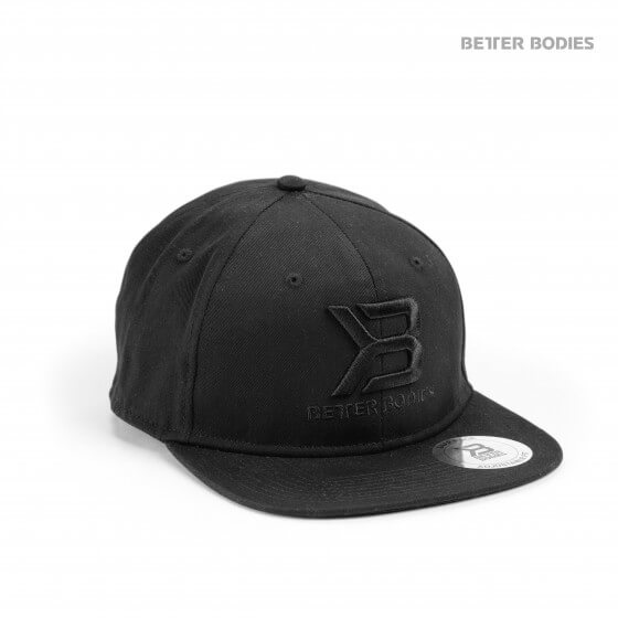 Better Bodies Womens Flatbill Cap, black