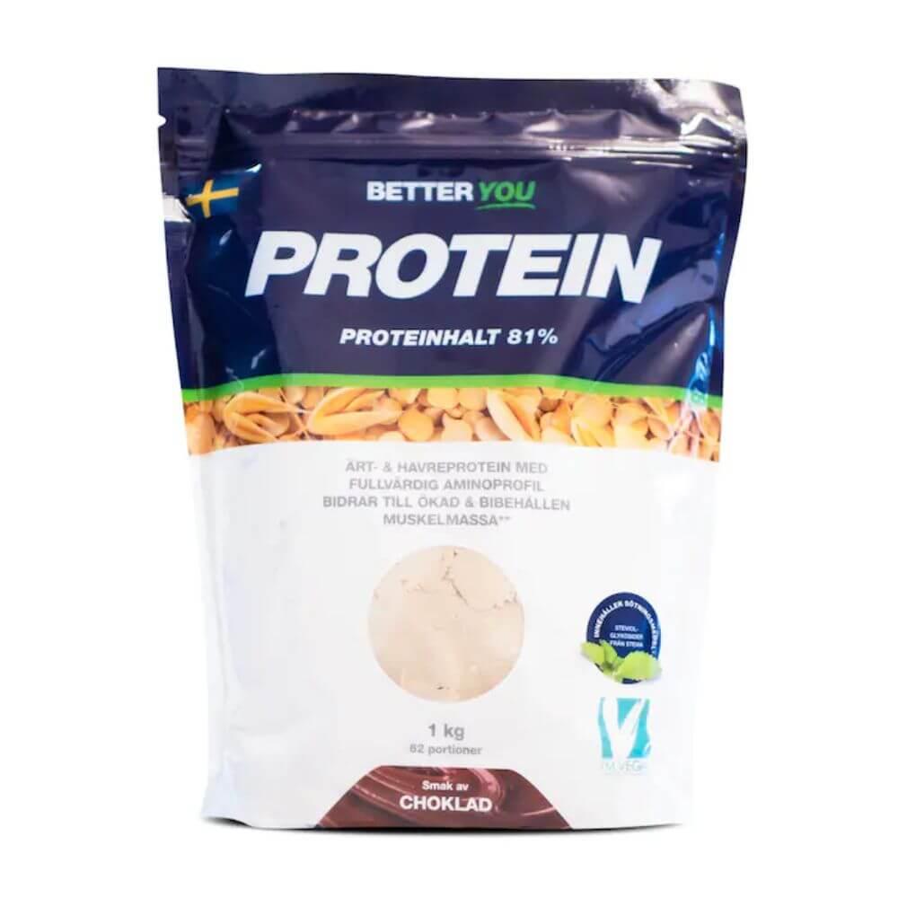 Better You Ärt- & havreprotein, 1 kg