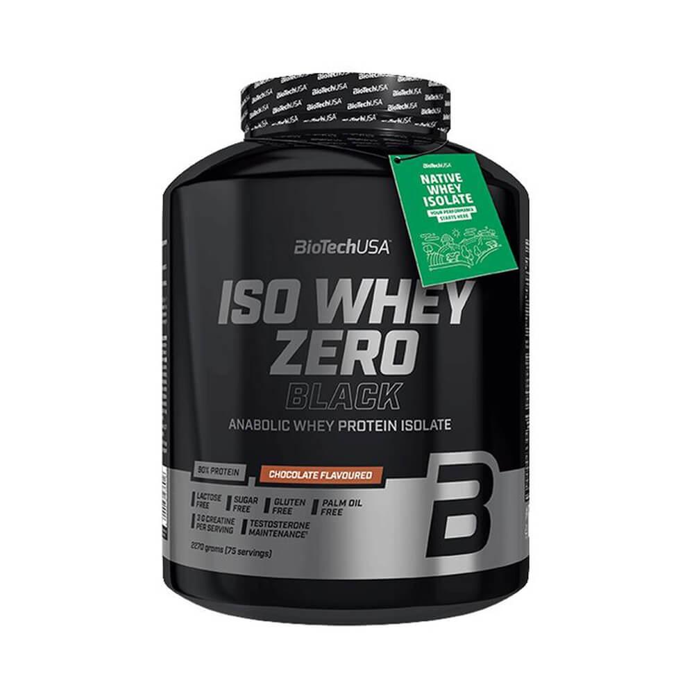 BioTechUSA Iso Whey Zero BLACK, 2270 g