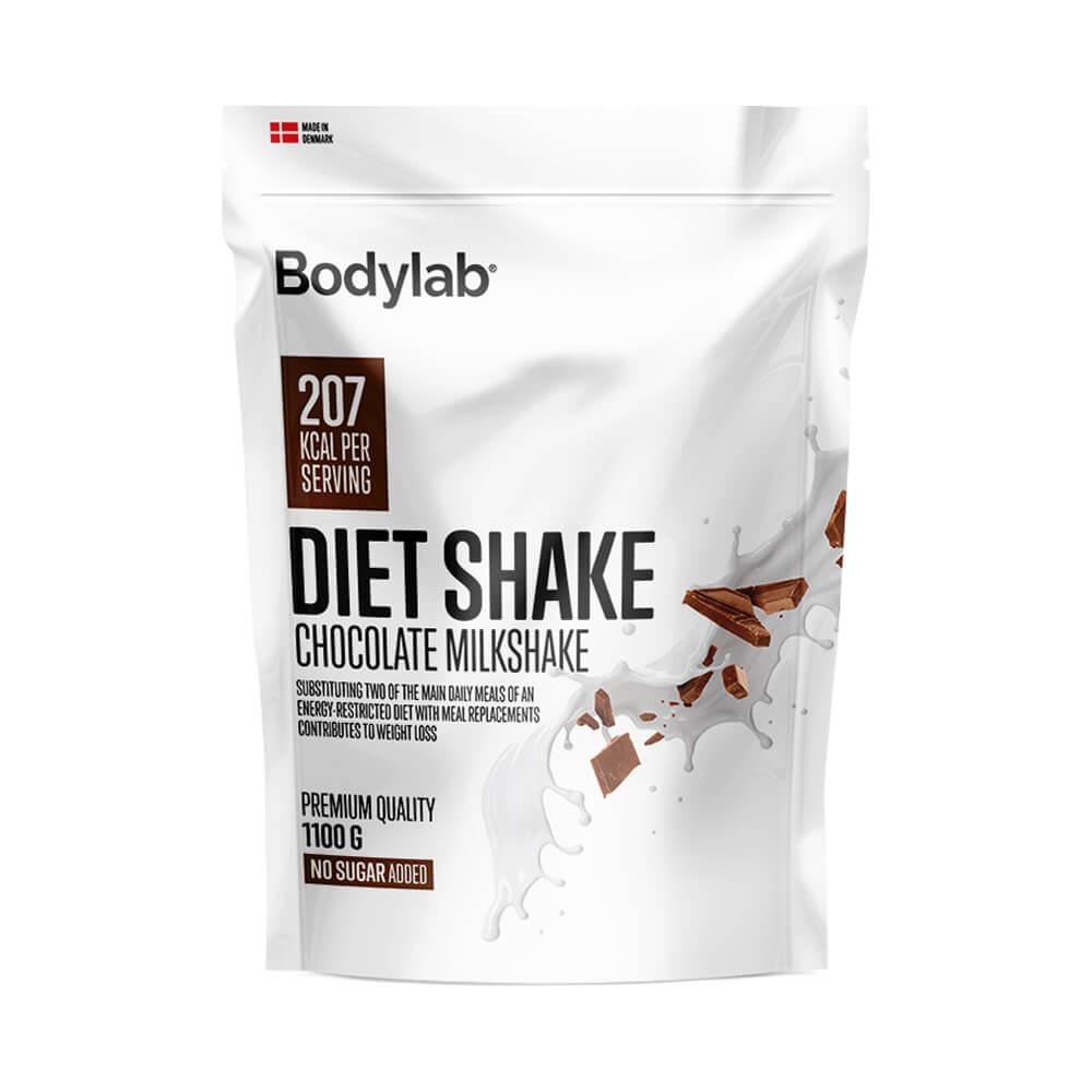 Bodylab Diet Shake, 1100 g Chocolate Milkshake)