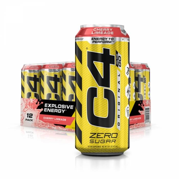 12 x Cellucor C4 Carbonated, 500 ml