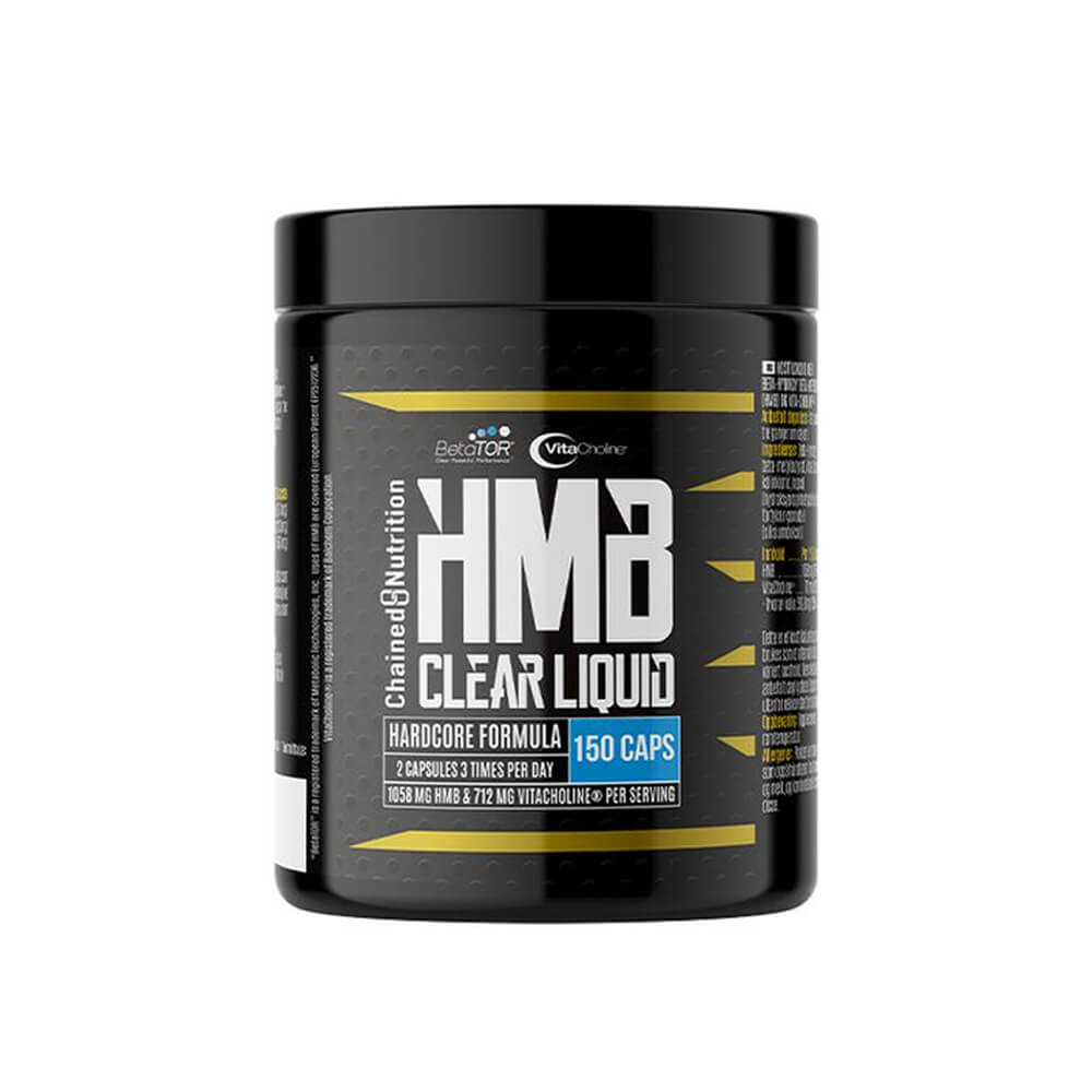 Chained Nutrition Clear HMB Liquid, 180 caps