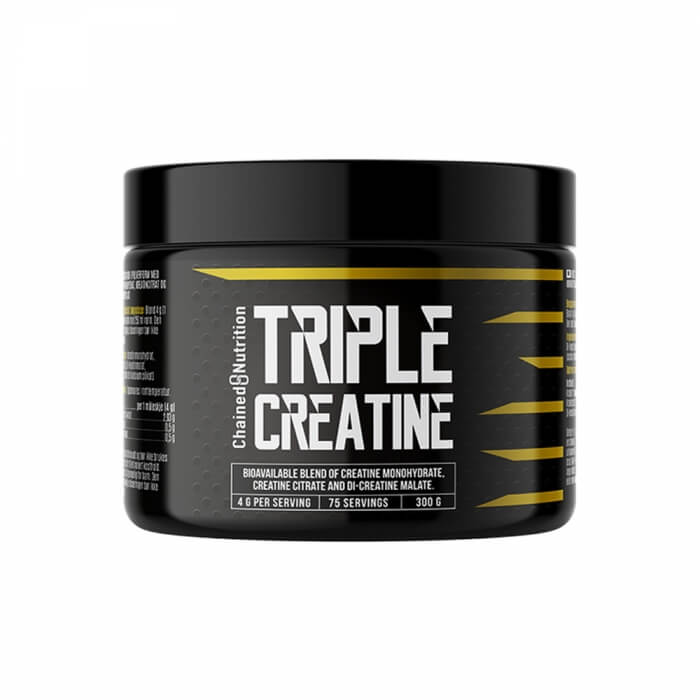 Chained Nutrition Triple Creatine Hardcore, 300 g