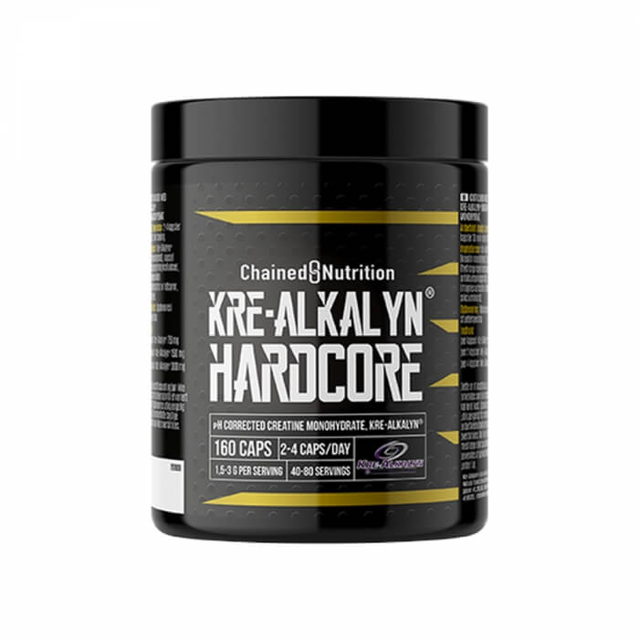 Chained Nutrition Kre-Alkalyn Hardcore, 160 caps
