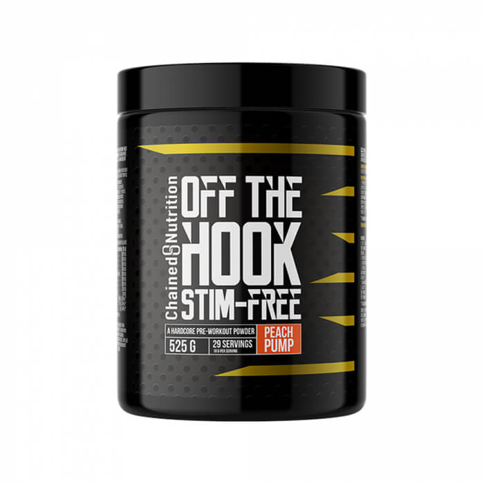 Chained Nutrition Off The Hook Stim Free, 525 g