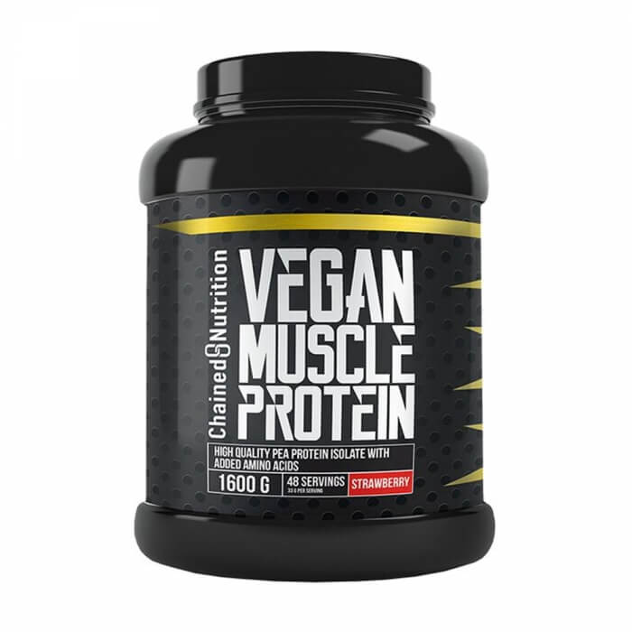 Chained Nutrition Vegan Muscle Protein, 1600 g