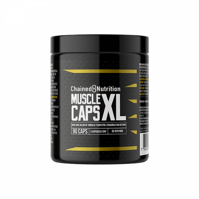 Chained Nutrition Muscle XL Caps, 90 caps