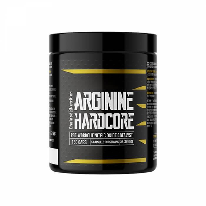 Chained Nutrition Arginine Hardcore, 160 caps