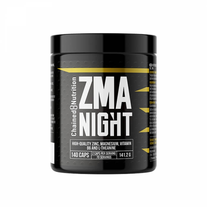 Chained Nutrition ZMA Night, 140 caps