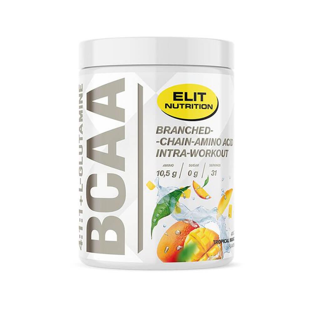 Elit Nutrition BCAA 4:1:1 + L-glutamine, 400 g