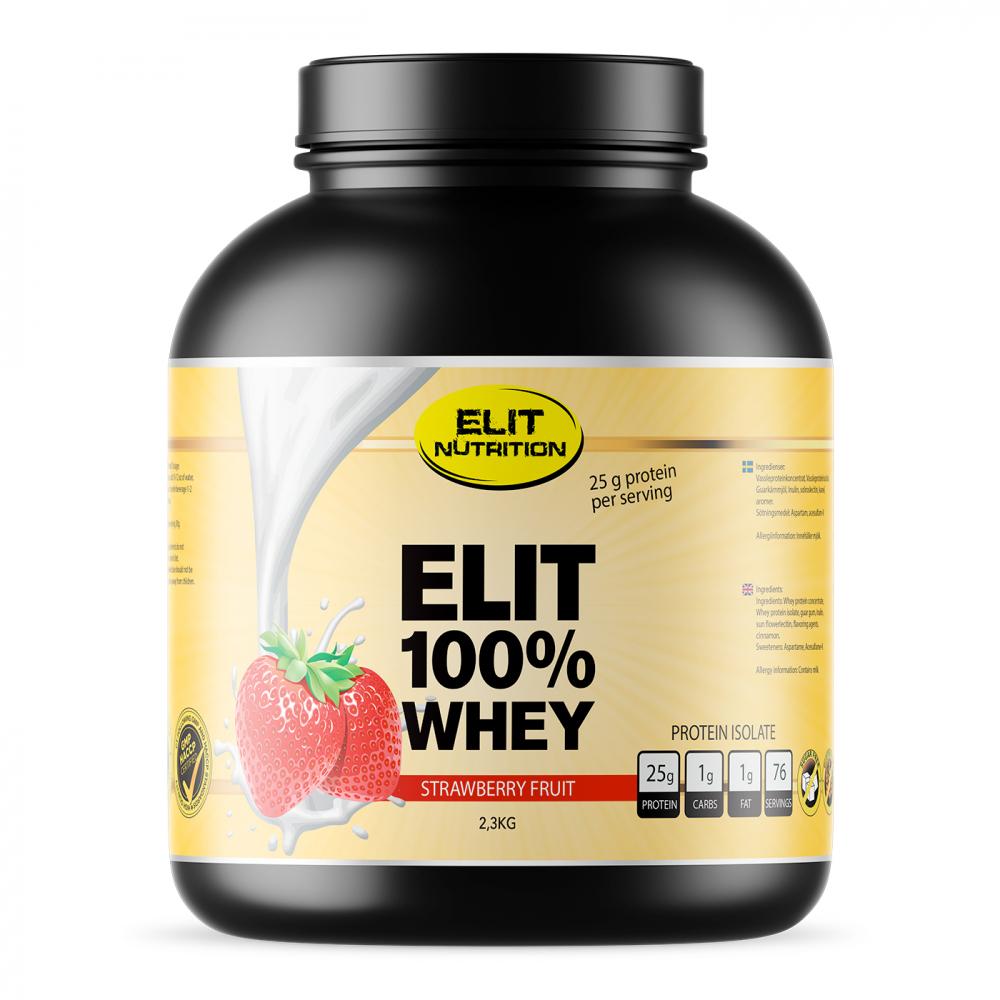 Elit Nutrition 100% Whey Isolate, 2,3 kg
