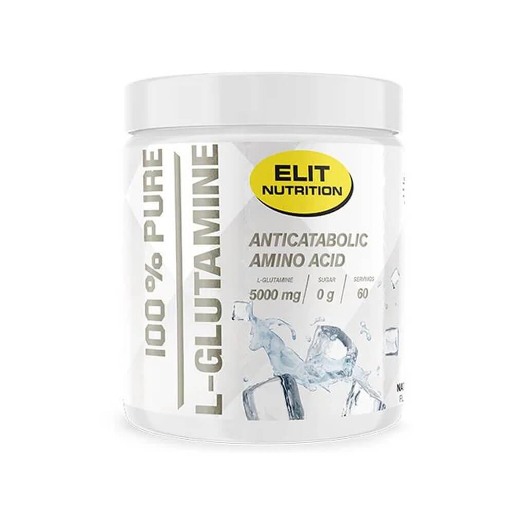 Elit Nutrition 100% Pure L-Glutamine, 500 g