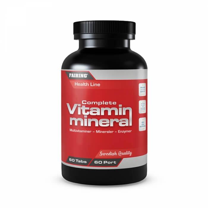 Fairing Complete Vitamin & Mineral, 60 tabs