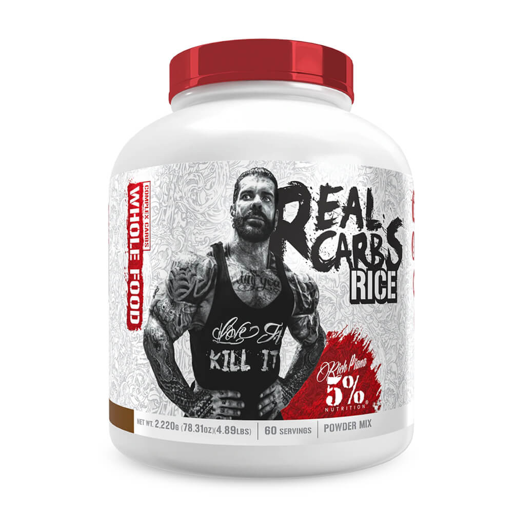5% Nutrition Real Carbs RICE, Cocoa Heaven, 2220 g