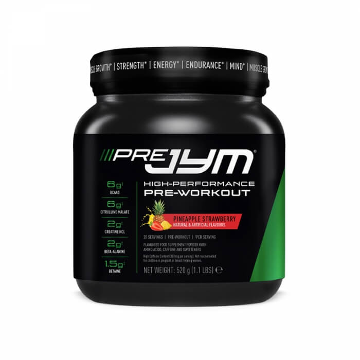 JYM Supplements Pre JYM, 20 serv.