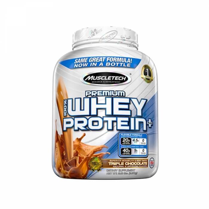 Muscletech Premium 100% Whey Protein +, 2,27 kg