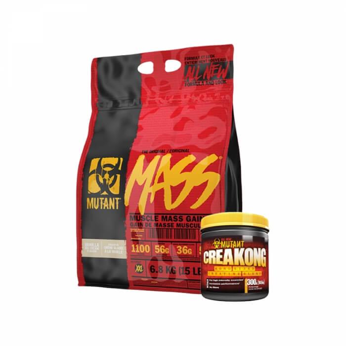 NEW Mutant Mass, 6,8 kg + CreaKong 300 g