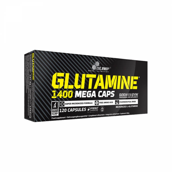 OLIMP Glutamine Mega Caps 1400, 120 caps