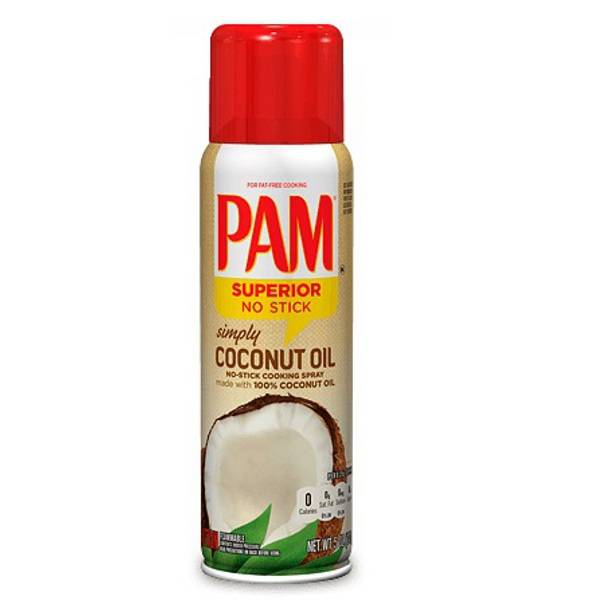 PAM Cooking Spray Coconut, 141 g