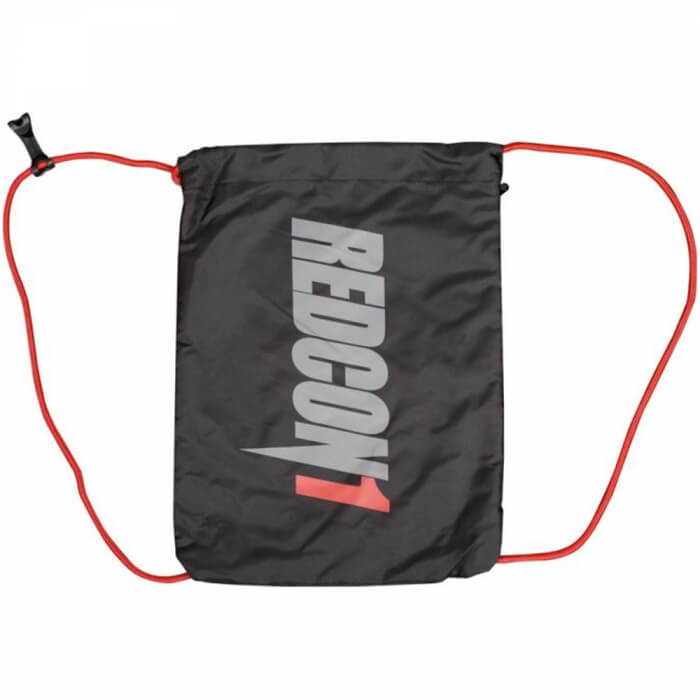 Redcon1 Drawstring Bag, black/grey