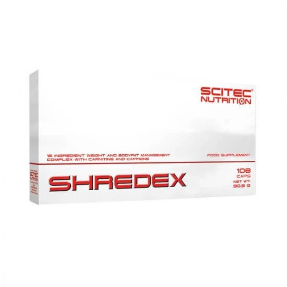 Scitec Shredex, 108 caps