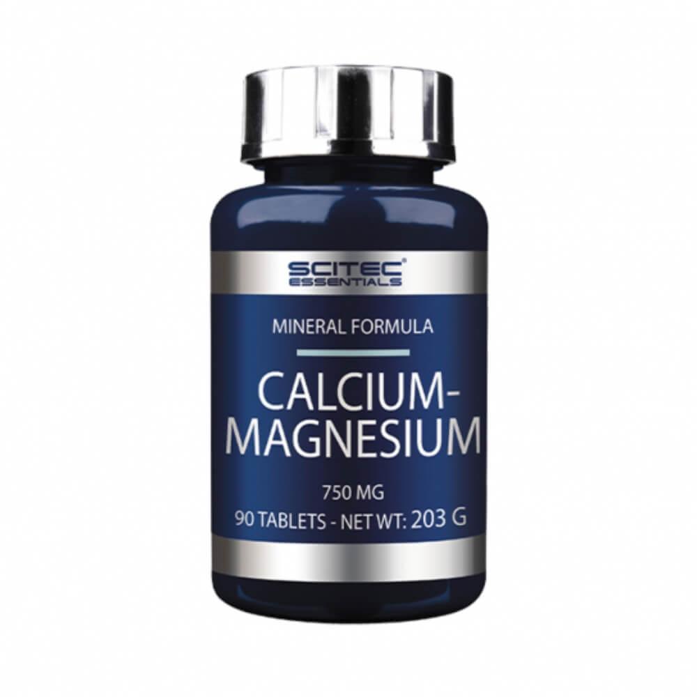 Scitec Nutrition Calcium-Magnesium, 100 tabs