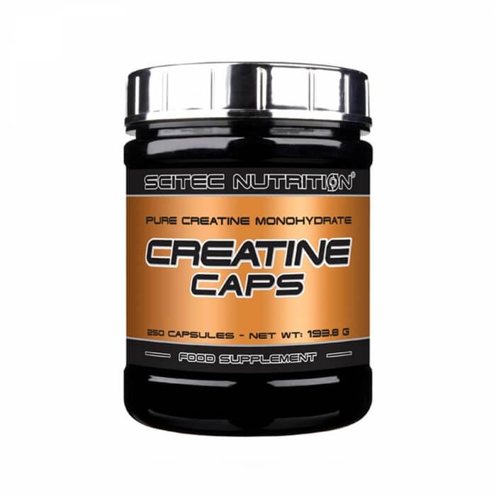 Scitec Nutrition Creatine Caps, 250 Caps