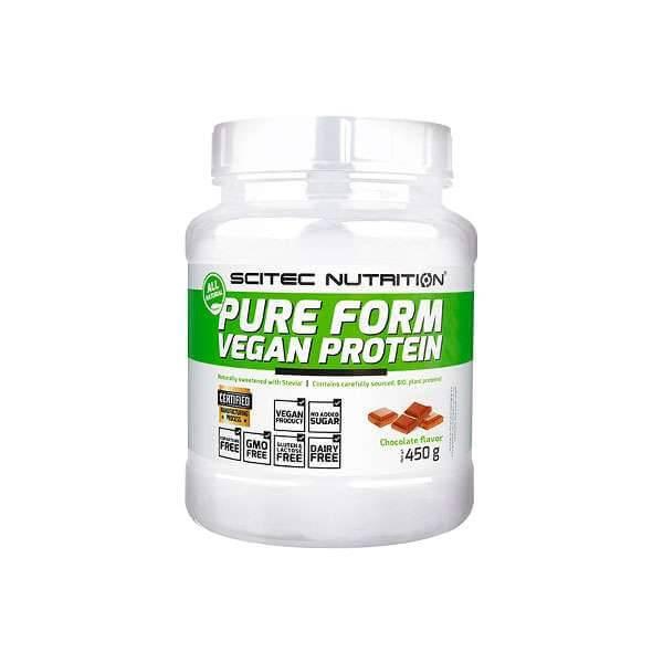 Scitec Pure Form VEGAN PROTEIN, 450 g