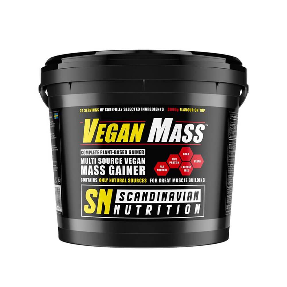 Scandinavian Nutrition Vegan Mass, 3000 g