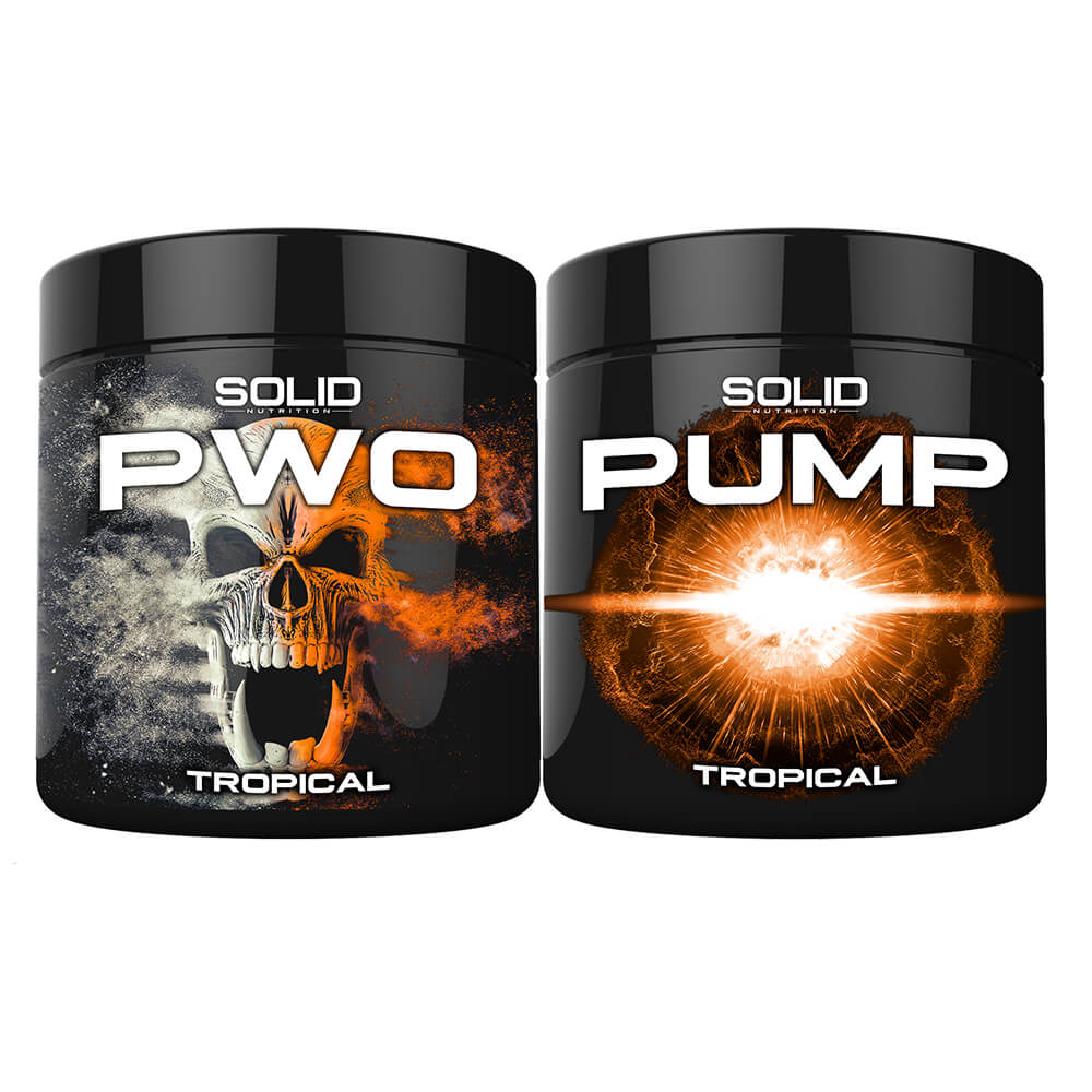 SOLID Nutrition BLACK LINE PWO Stack