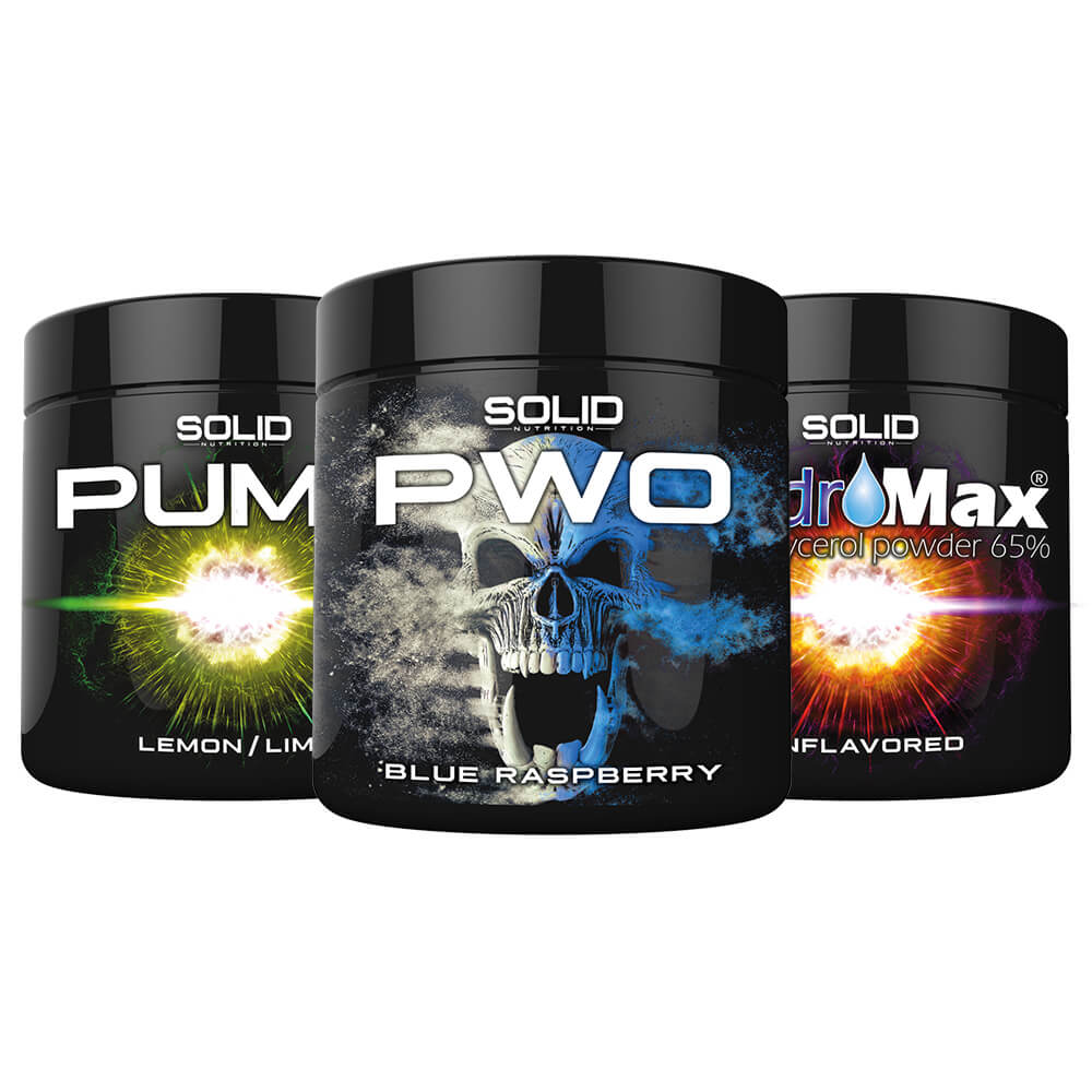 SOLID Nutrition BLACK LINE Extreme PWO Stack