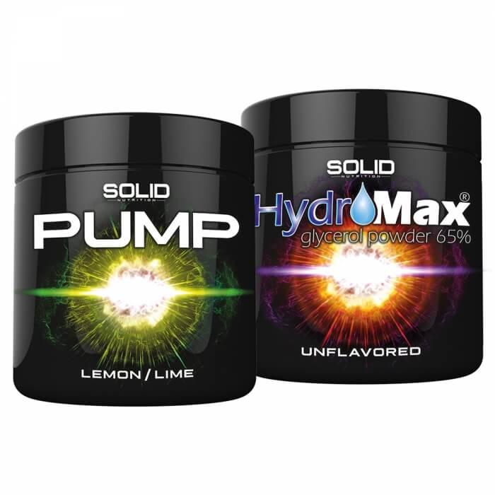 SOLID Nutrition BLACK LINE Pump Stack