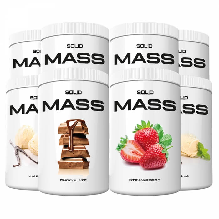 8 x SOLID Nutrition Mass, 1 kg