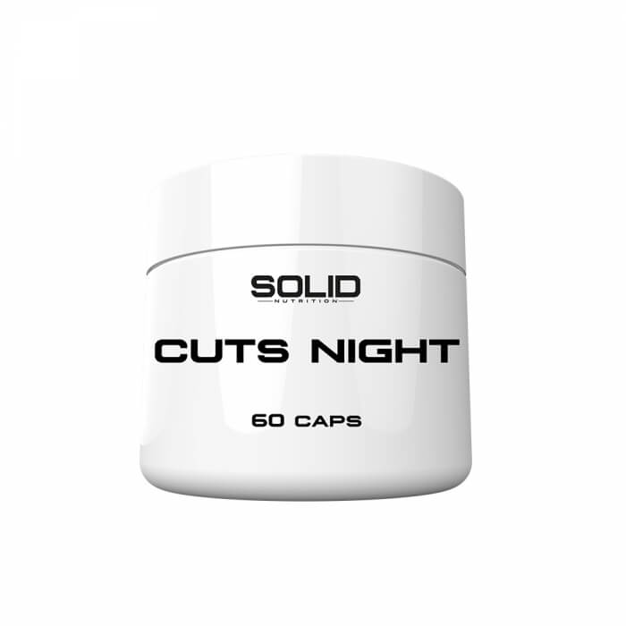 SOLID Nutrition Cuts Night, 60 caps
