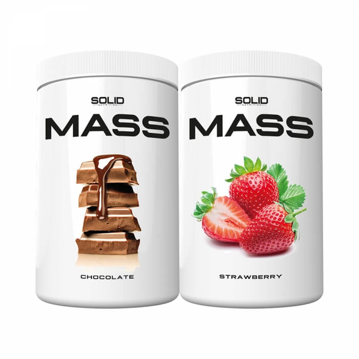 2 x SOLID Nutrition Mass, 1 kg